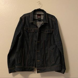 Dark Denim Oversized Jacket